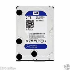 "WD Blue 2TB 5400 RPM WD20EZRZ 3.5"" Internal Desktop Hard Drive"