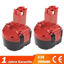 2xAkku NICD 9.6V 2.0Ah für Bosch 32609-RT GDR 9.6 V GSR 9.6 PSR 9.6 VE-2 PSR 960