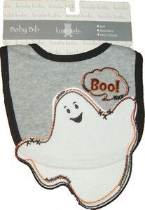 Halloween Baby Bib 1 ST Ghost First Fun Cute Infant Boys Girls Toddler costume