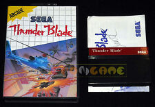 THUNDER BLADE Master System Versione Europea PAL ••••• COMPLETO