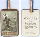 Insigne de journées 1914/1918 - Journée régions liberées oiseau chantant croix