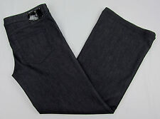 Womens Diesel YBO Stretch Wide leg jeans Dark Blue Italy Made Size W 32 / L 32