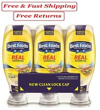 Best Foods Real Mayonnaise (25 oz., 3 pk.)