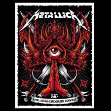 Metallica Copenhagen Denmark 9-2-2017 Concert Poster Gig Numbered Royal Arena
