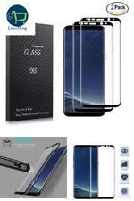 [2 PAQUETES] Protector de Pantalla de Vidrio 3D 9H para Samsung Galaxy S8 PLUS