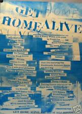 HOME ALIVE POSTER: THE ART OF SELF DEFENSE (H6)