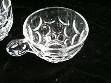 Heisey Glass Provincial Punch Cups pair