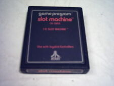 ATARI 2600 7800 GAME;  SLOT  MACHINE  1978 Text Label  *Rarity 3*  CX-2653  VGC