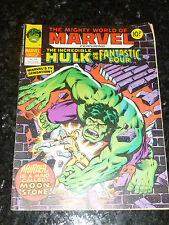 Mighty World of MARVEL Starring the INCREDIBLE HULK - No 324 - Date 13/12/1978