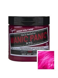 Manic Panic High Voltage Classic Cream Formula 118ml - Hot Hot Pink Hair Dye