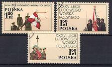 Poland - 1978 35 years army - Mi. 2578-80 FU