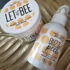 Perfectly Posh Let It Bee Body Butter+ Buzz Peel Exfoliating Polish Manuka Honey