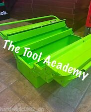 TOOL ACADEMY SALE HI VIS GLOW UP GREEN 530mm LONG CANTILEVER TOOLBOX WITH HANDLE