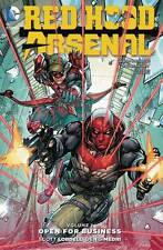 Red Hood Arsenal Vol 1: Open for Business by Lobdell & Medri TPB 2016 DC 52