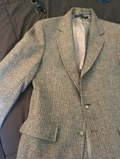 vtg Brooks Brothers Tweed 40L Blazer 3/2 USA