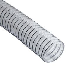 Clear Flexible Dust Collection Hose - 2-1/2 in Diameter