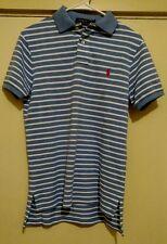 NWT Polo Ralph Lauren Men's Custom Fit Short Sleeve Striped Polo Shirt Size S