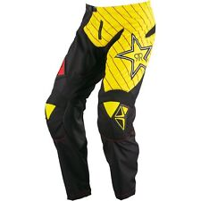 NEW ONE INDUSTRIES ATOM  ATV  MX BMX RACING PANTS  PANT Rockstar  size 32