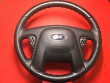 2001-2004 FORD ESCAPE DRIVER AIR BAG STEERING WHEEL WITH CRUISE USED OEM!