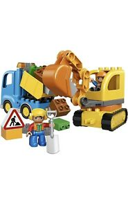 Lego 10812 DUPLO Town Truck & Tracked Excavator BRAND NEW