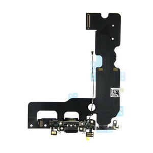iPhone 8 Plus Charging Port - Replacement Charger Flex Cable USB Dock Mic Black