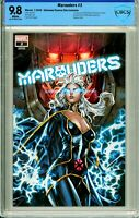 Marauders #2 Unknown / Comics Elite Exclusive - CBCS 9.8!