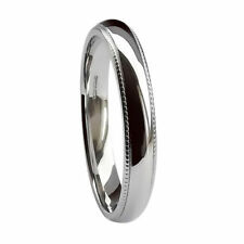 Platinum Wedding Band Fine Rings without Stones