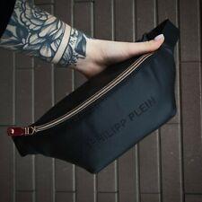 Belt Bag & Fanny Pack Black Philipp Plein, Men's Bag, Philipp Plein