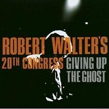 Robert Walter's 20th Congress Giving Up The Ghost CD NEW 2003 Walter Jazz