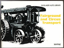 Fairground & Circus Transport in the Olyslager Auto Library Series Pub. 1973
