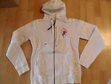 Scapa Sports hermosas kapuzensweatjacke Hoodie blanco bordado talla s top ksa216