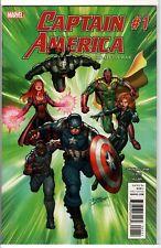 Marvel Comics Captain America Road to War #1 2016