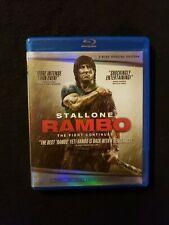Rambo Blu ray Only No Digital Copy, Lot E1.