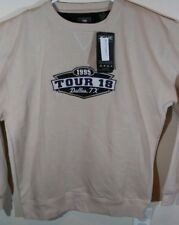 1995 Tour 18 Dallas, Tx Embroidered Golf Sweater Sz Medium Ahead Authentics