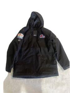 Colorado Avalanche Lake Tahoe Player Issued Fanatics Coat NHL 2021 Size LG