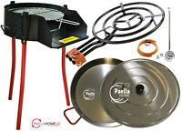 60cm Rustic BBQ & Paella Pan & Gas Burner Set - The Ultimate Original Summer Kit
