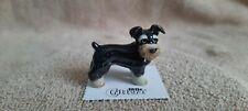 "Little Critterz Dog Miniature Schnauzer ""Pepper"" Miniature Figurine New Lc956"