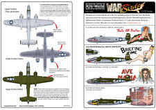 Kits-World 1/72 B-25J Mitchell Nose Art # 72024