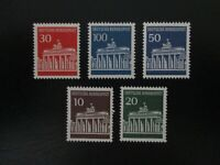 Germany #952-56 Mint Never Hinged (M7N4) - Stamp Lives Matter!