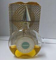 Eau de Cologne Guerlain Chamade 1967 6 oz Bottle w/ Box Partial left vintage vtg