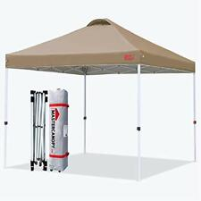 MasterCanopy Pop-up Gazebo Tent Commercial Instant Canopy with Wheeled