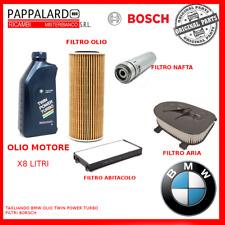 KIT TAGLIANDO BOSCH + OLIO BMW ORIGINALE X3 F25 -X5  E70  X5 F15- X6 E71- X5 40D