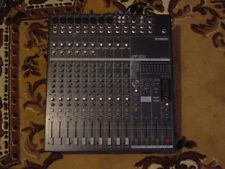 Yamaha EMX5014C Powered Mixer & Yamaha C115v Speakers W/ Stands