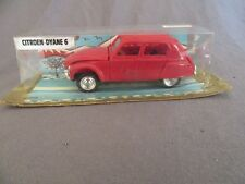 482F Vintage Minialuxe Citroën Dyane 6 Rouge 1:43