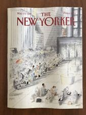 1987 May 18 The New Yorker Magazine Lunch Break Sempe