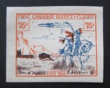 Mint MAY 1936 Canada First Canadian Rocket Flight 75 cent MNG