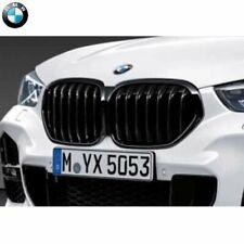 Original BMW X1 Ziergitter Front Shadowline F48 LCI Nieren schwarz 51138080619
