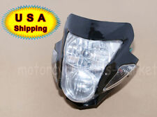 Moto Head Light Lamp Fairing Motorcycle Street Fighter Naked For Honda Suzuki US