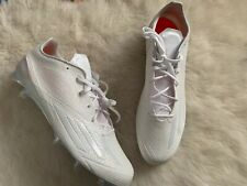 Adidas Men's Adizero Football Cleats Shoes Size 15 -New- Low Top White