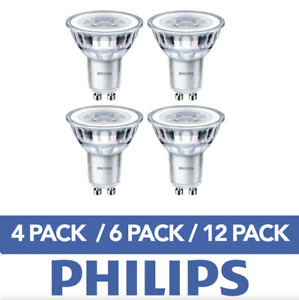 LED GU10 Light Bulbs Energy Saving Lightbulbs Spotlight Lamp A+ Bulbs Philips